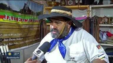 Feira traz o melhor da cultura, tradições e culinária gaúcha - Feira traz o melhor da cultura, costumes, tradições e culinária gaúcha