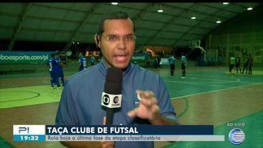 Rodada decisiva da Taça Clube de Futsal define classificados - Rodada decisiva da Taça Clube de Futsal define classificados