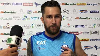 Jonatan Gómez compara torcida do CSA à Argentina - Jogador fala que garra e coração são as afinidades entre elas