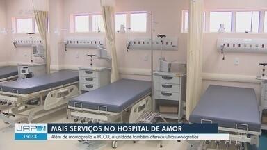 Hospital de Amor fez 120 exames por dia no 1º mês no AP; ultrassons vão aumentar oferta - Hospital de amor de Macapá começou fazendo coleta de PCCUs e mamografias no dia 24 de junho.