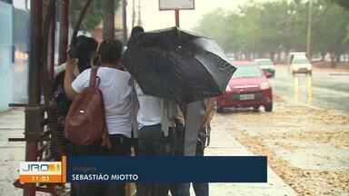 Finalmente chuva em Porto Velho - Há mais de 60 dias não chovia em Porto Velho, segundo o Sipam.