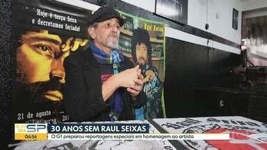 Morte de Raul Seixas faz 30 anos e a cidade de SP ainda tem marcas de sua história - Cantor passou parte da sua vida em São Paulo e deixou marcas de sua carreira