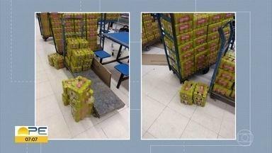 Procon faz apreensões de alimentos fora do prazo da validade em supermercados no Recife - Gerente do Procon, Danielle Sena, dá dicas de como comprar produtos com segurança.