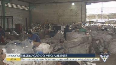 Veja como os moradores de Itanhaém podem ajudar a reaproveitar o lixo reciclável - Secretário de Serviços Urbanos, Vinicius Camba, falou sobre o assunto.