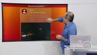 Confira participação do público no Bom Dia Vanguarda - Internautas interagem pelas redes sociais.