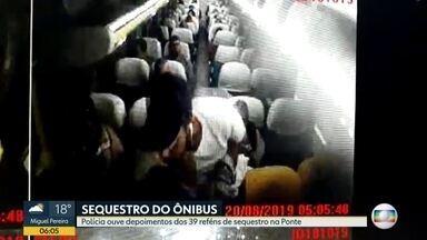 Investigação do sequestro acontece na Delegacia de Homicídios na Barra - O comandante do Bope afirmou que seguiu todos os protocolos, inclusive internacionais, na operação de resgate.