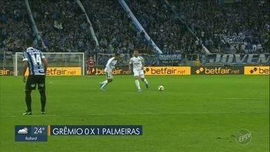 Palmeiras vence em Porto Alegre e sai na frente do Grêmio em duelo da Libertadores - Vitória por 1 a 0 deixa o Palmeiras mais perto da próxima fase da Libertadores.