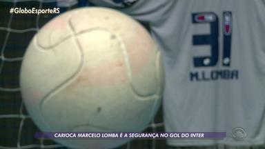 Conheça a história de Marcelo Lomba, defensor do gol colorado - Goleiro surgiu nas categorias de base do Flamengo.