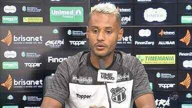 Mateus Gonçalves projeta duelo entre Ceará e Flamengo e espera entrar em campo - Mateus Gonçalves projeta duelo entre Ceará e Flamengo e espera entrar em campo