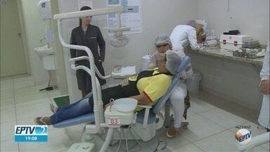 Consultório com dentistas é montado para atender visitantes da Festa do Peão de Barretos - Parque espera receber mais de 1 milhão de pessoas em 2019.
