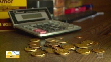Comerciantes de Petrolina enfrentam falta de moedas - Para poder dar o troco, o jeito tem sido criar estratégias.