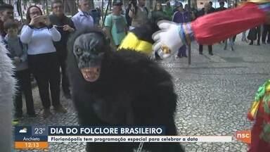 Florianópolis tem programação especial para celebrar o Dia do Folclore - Florianópolis tem programação especial para celebrar o Dia do Folclore
