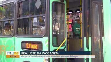 Grupo de vereadores questiona o aumento da passagem em Nova Friburgo - Valor de R$ 4,20 começou a ser cobrado no sábado (17).