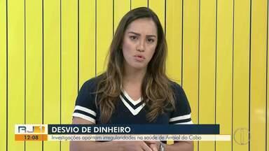 Investigações apontam irregularidades na Saúde em Arraial do Cabo - Desvio de dinheiro chegaria a R$ 2,5 milhões, segundo Polícia Civil.