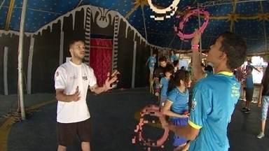 Circo Laheto é um dos beneficiados no projeto Criança Esperança - Diretora da E.E. Joaquim Afonso Rodrigues implementou a poesia no dia-a-dia dos alunos.