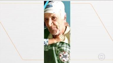 Suspeito de espancar e matar idoso é preso em São Paulo - Câmeras de segurança registraram a ação. A companheira do agressor também foi detida como cúmplice.