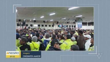 Estivadores reclamam de mau funcionamento da escala digital - Estivadores também protestam contra a falta de orientação para os trabalhadores.