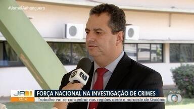 Força Nacional começa a atuar em Goiânia - Trabalho vai se concentrar nas regiões oeste e noroeste da capital.