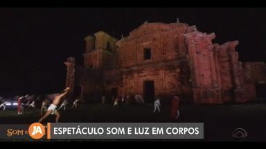 Conheça as ruínas de São Miguel das Missões, patrimônio histórico no RS - Espetáculo Som e Luz em Corpos retoma neste fim de semana.