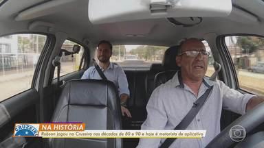 Ex-jogador do Cruzeiro nas décadas de 80 e 90 mostra a rotina como motorista de aplicativo - Ex-jogador do Cruzeiro nas décadas de 80 e 90 mostra a rotina de motorista de aplicativo