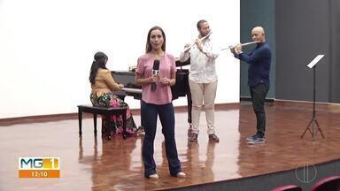 Músico montes-clarense é aprovado para fazer mestrado na Espanha - Jhonatan Freitas é flautista e começou suas primeiras apresentações aos 10 anos de idade. O norte-mineiro fará mestrado na Espanha e conta sobre a realização deste sonho.