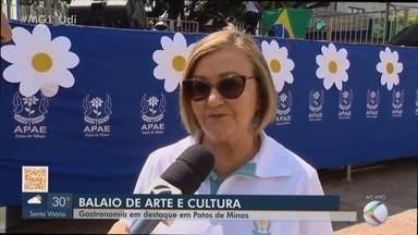 APAE em Patos de Minas promove 'Feira da Bondade' - O evento beneficente é realizado há 26 anos e, agora, será na Praça do Fórum, no Centro da cidade. Ele faz parte da Semana Nacional e Municipal da Pessoa com Deficiência Intelectual e Múltipla.