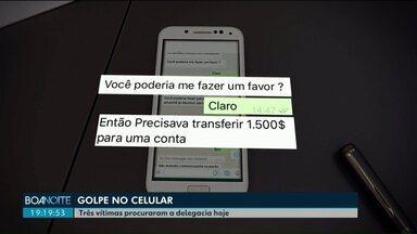 Golpe do celular faz mais vítimas em Cascavel - Três pessoas procuraram delegacia no mesmo dia para registrar o crime.