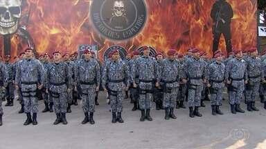 Reunião define primeiros passos da atuação da Força Nacional de Segurança em Goiás - Ao todo, 100 militares vão atuar em regiões da capital após autorização do Ministério da Justiça.
