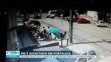 Câmera flagra policial sendo assaltado em Fortaleza - Confira mais notícias em g1.globo.com/ce