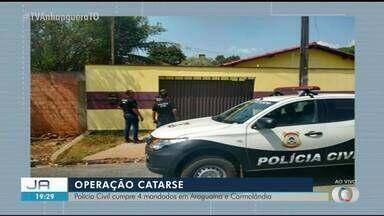 Polícia realiza novas buscas dentro da Operação Catarse em duas cidades - Polícia realiza novas buscas dentro da Operação Catarse em duas cidades