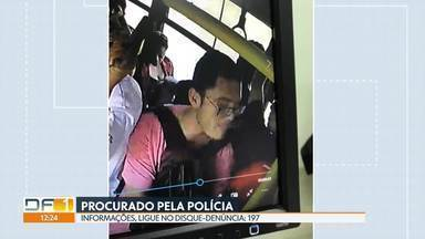Polícia procura assaltante de ônibus - Homem já roubou dois ônibus em Ceilândia, segundo a polícia.