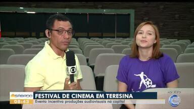 Festival de Cinema incentiva produções audiovisuais em Teresina - Festival de Cinema incentiva produções audiovisuais em Teresina