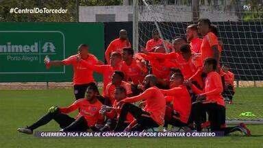 Paolo Guerrero não foi convocado para a Seleção e vai poder jogar pelo Inter - Atacante corria risco de perder jogos importantes na Copa do Brasil.