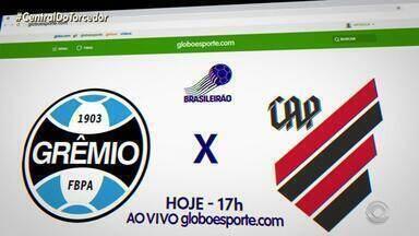 Veja como fazer para assistir a partida entre Grêmio x Athlético-PR - Assista ao vídeo.