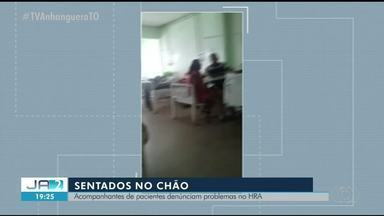 Acompanhantes de pacientes denunciam descaso no Hospital Regional de Araguaína - Acompanhantes de pacientes denunciam descaso no Hospital Regional de Araguaína