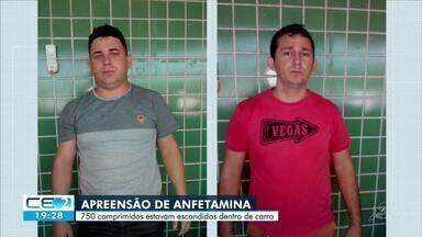 PRF apreende comprimidos de anfetamina em Varjota - Saiba mais em g1.com.br/ce