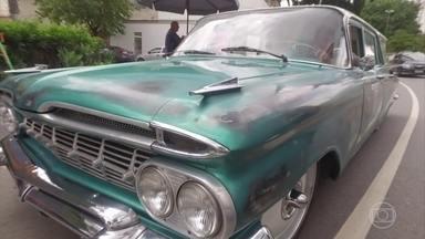 Pintura 'gasta' é nova moda de customização - Veja a nova tendência na pintura de carros.
