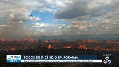 Caracaraí, Sul de RR, é a cidade com maior incidência de focos de calor em todo Brasil - Números alarmantes foram registrados principalmente no início do ano.