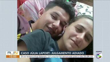 Julgamento da mãe e padrasto de criança encontrada em mala é adiado em Barra do Piraí - Duas testemunhas faltaram. Julgamento foi remarcado para 25 de setembro.