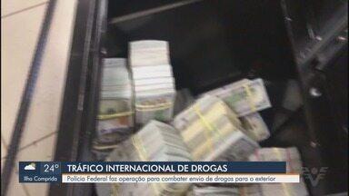 Polícia Federal faz operações contra tráfico de drogas em portos brasileiros - Alvo são criminosos que usam terminais de Santos (SP), Paranaguá (PR) e Itajaí (SC).