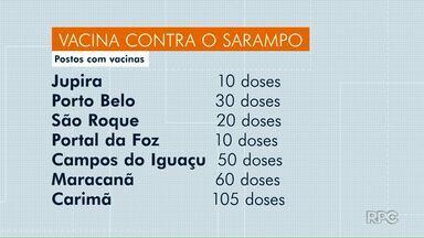 Confira quais postos de saúde tem doses da vacina contra o Sarampo - Uma nova campanha de vacinação deve começar no dia 16 de Setembro.