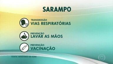 Secretaria da Saúde de SP confirma a primeira morte por sarampo no estado - São Paulo é o estado com mais casos da doença.