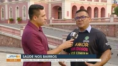 Bairro compensa recebe projeto 'Saúde nos Bairros', neste sábado (31) - Vários serviços gratuitos serão oferecidos.