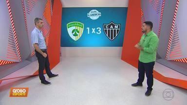 Henrique Fernandes analisa os lances da vitória do Atlético-MG na Colômbia - Henrique Fernandes analisa os lances da vitória do Atlético-MG na Colômbia