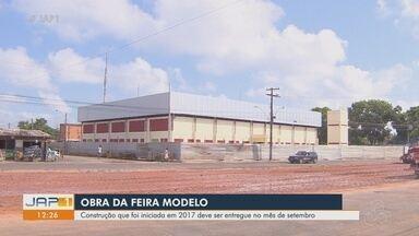 Com obras 100% concluídas, Feira Modelo, no Buritizal, deve ser inaugurada em setembro - Com obras 100% concluídas, Feira Modelo, no Buritizal, deve ser inaugurada em setembro