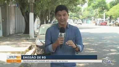Emissão de RG retorna no dia 2 de setembro na rede Super Fácil, em Macapá - Cerca de 20 mil cédulas do papel-moeda foram adquiridas para atender a demanda, diz Politec.
