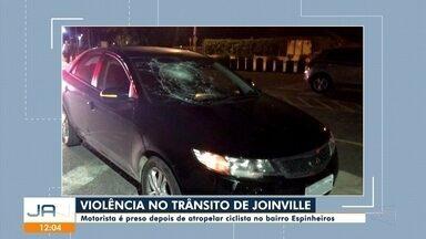 Ciclista morre atropelado por motorista embriagado em Joinville - Ciclista morre atropelado por motorista embriagado em Joinville