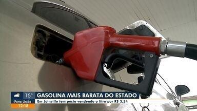 Joinville tem a gasolina mais barata do estado, segundo pesquisa - Joinville tem a gasolina mais barata do estado, segundo pesquisa