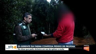 Ex-gerente da Faema confessa pedido de propina - Ex-gerente da Faema confessa pedido de propina