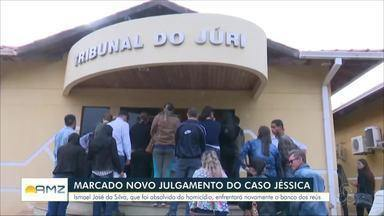 Definida a data do novo julgamento de um dos acusados de matar a adolescente Jéssica em RO - Crime aconteceu em abril de 2017